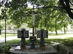 Jarovce - pomník padlým vo vojne