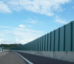Protihluková stena